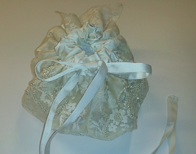 Jewelry Bags from Wedding Dress