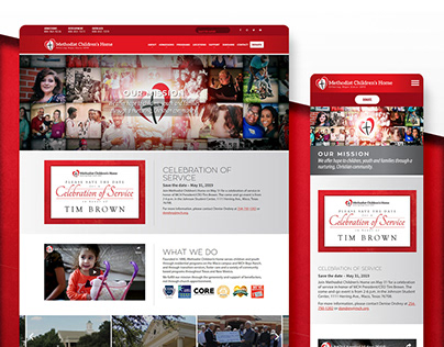 MCH Website Design