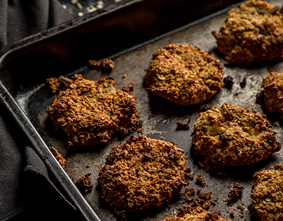 Homemade Baked oatmeal Cookies