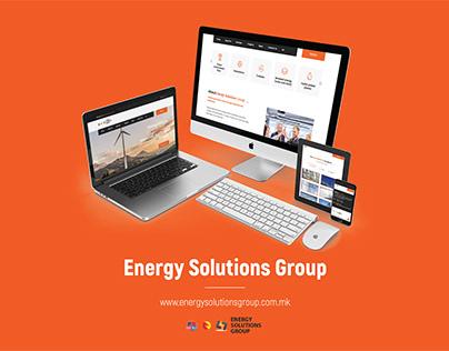 Web Design & Development – Energysolutionsgroup.com.mk