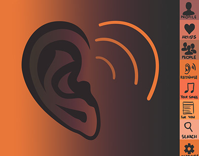 Melomania - a music app prototype