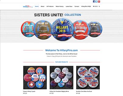HillaryPins.com