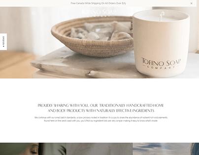Tofino soap company ❙ Shopify store