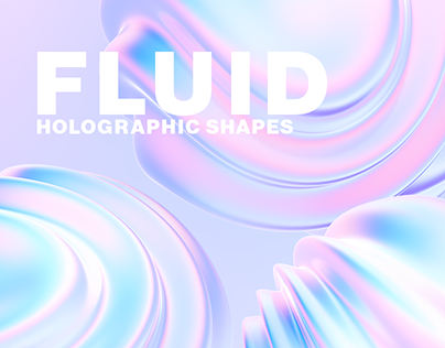 Fluid Holographic Shapes