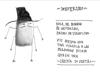 Zeferino, curta-metragem de animação em fase de projeto