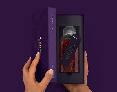Persiana Saffron Packaging & Branding By Studio Metis