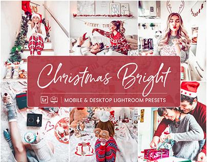 Christmas Bright – Mobile & Desktop Lightroom Presets