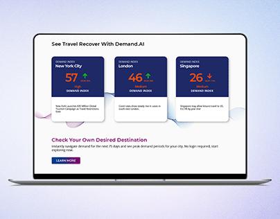 RateGain Demand AI Page