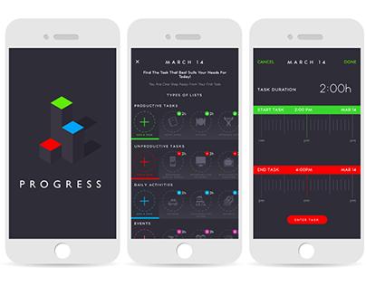 Progress Tracking Interactive App
