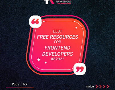 Free Resources For Fronr-End Developers