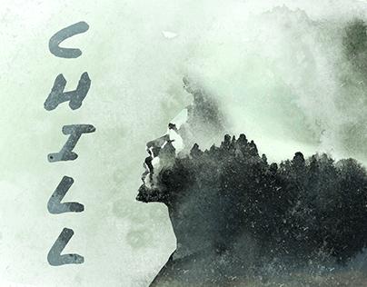 Chill // watercolour effect