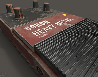 Old Heavy Metal Coron HM520 guitar effect v2 ///