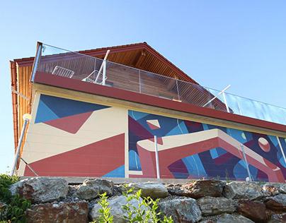 Mural in Styria