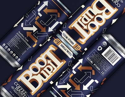 BOOTUP Coffee Based Organic Energy Drink