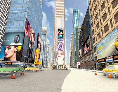 NEWYORK 3D ENVIRONMENT