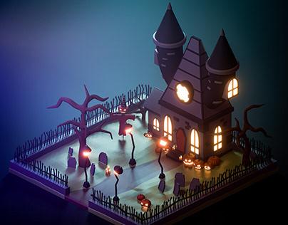 3D Halloween 2020
