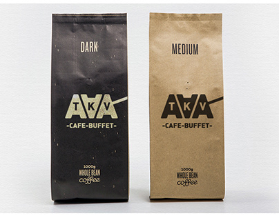Identity and VIS for the cafè TAKAVA coffee buffet