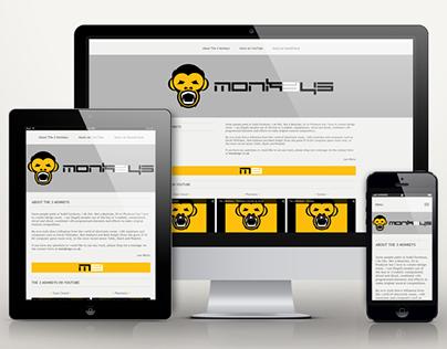 The 3 Monkeys responsive website