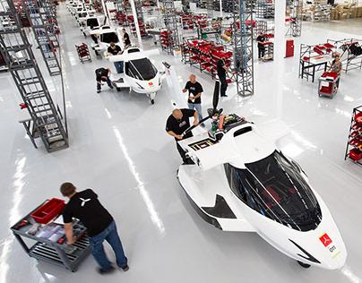 ICON AIRCRAFT Factory Design