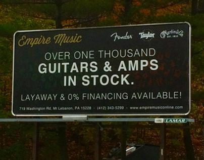 Empire Music Billboard