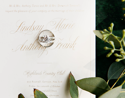 Lindsay + Anthony Invitation Suite