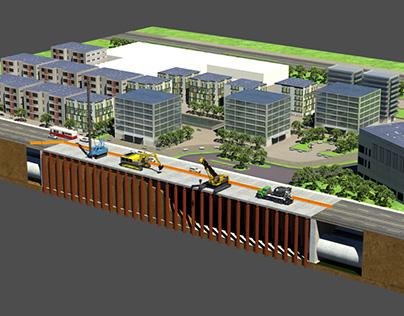 Eglinton Train Station Visualization