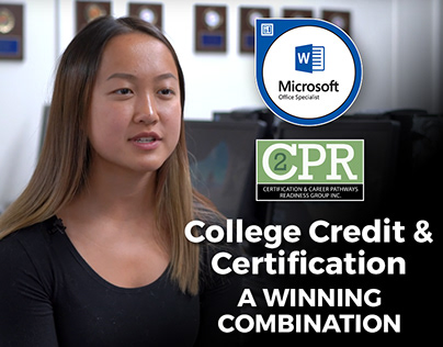 College Credit & Certifications in the Classroom