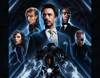 Iron Man 2 Custom Poster