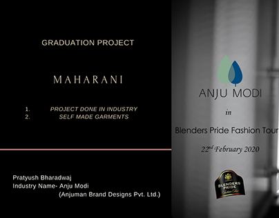 Blenders Pride Collection 2020- Graduation Project