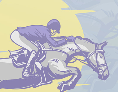 Jumping Horse Design