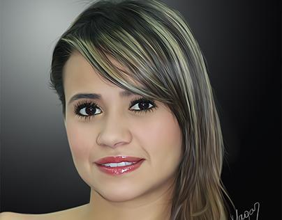 Sandra Martinez - Ilustración Digital - Por MAGAR