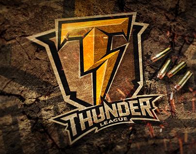 """""""War Thunder League"""" World Online Tournament Logo"""