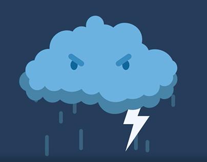 Moody Cloud Animation