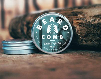 Beard balm branding&packaging