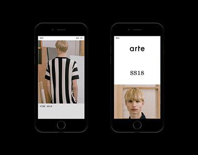Arte Antwerp - Website