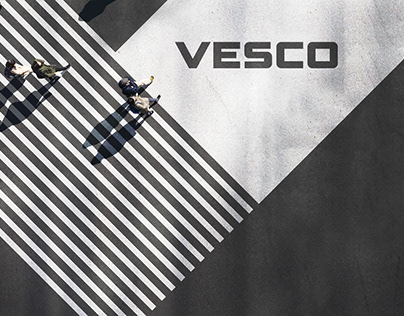 VESCO: rebranding in conservative B2B category