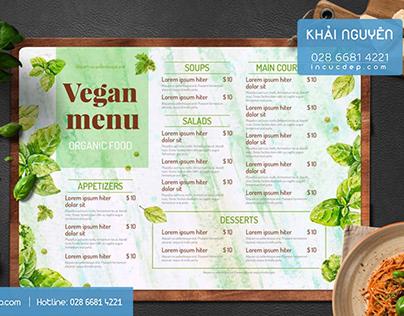 Fast Food Menu Design 2020