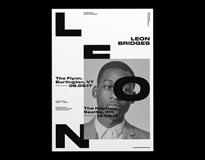 Leon Bridges | Poster