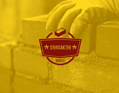 Sivasakthi Bricks. Logo Design