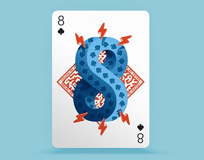 Playing Arts - 8 of Spades ♠