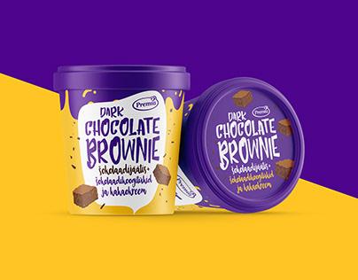 Premia chunky ice creams