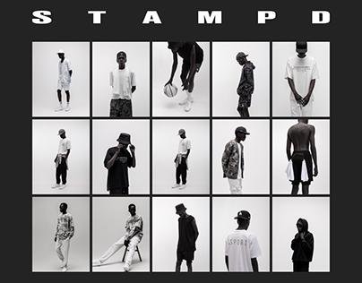 STAMPD E-Comerce Website Redesign