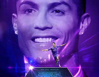 Cristiano Ronaldo artwork - Social Media Real Madrid