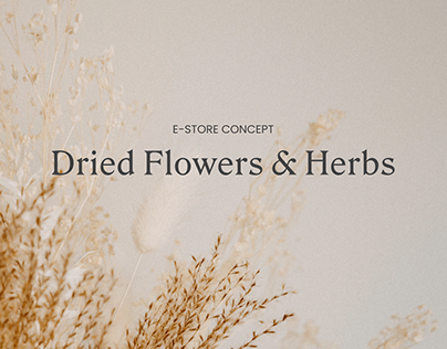 Dried Flowers & Herbs
