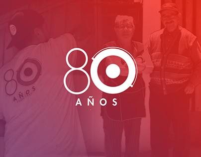 Tricolor / 80 años