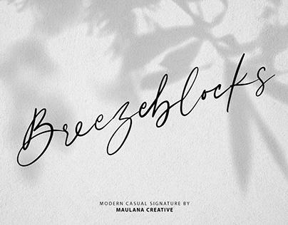 Breezeblocks Modern Casual Signature