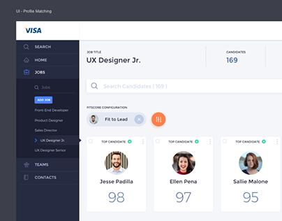 Dashboard UI - HR Portal