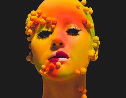 'Chameleon' - art-beauty project