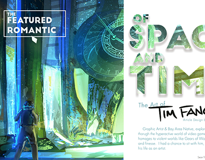 Of Space + Time [Editorial Design]