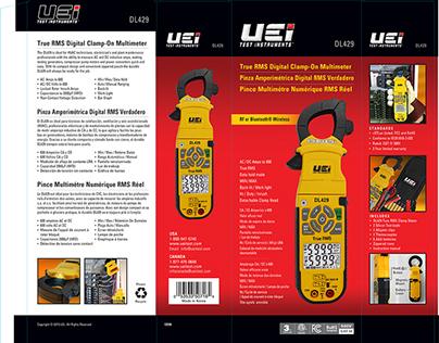 Package design UEi test instrument DL429